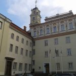 The Central Buildings of the Old Campus of the Vilnius University