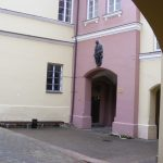 Simonas Daukantas Courtyard at Vilnius University Old Campus