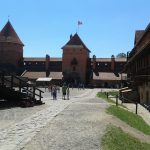 Bailey of Trakai Island Castle