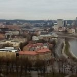 Vilnius Panorama of the Neris River