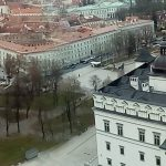 Vilnius Old Town Panoramic View