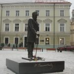 Jonas Basanavičius Monument in Vilnius