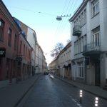 Trakų Street in Vilnius