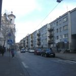 Dominikonų Street in Vilnius