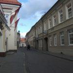 Bernardinų Street in Vilnius