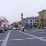 Around Town Hall Square in Vilnius