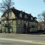 Traditional Wooden Houses in Žvėrynas