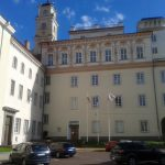 The Library Courtyard of the Vilnius University